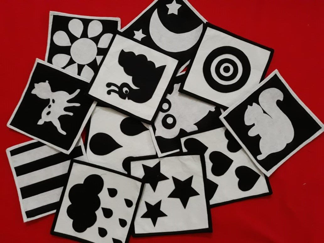 Black And White Flash Card Archives Busy Books In Sri Lanka Seno Sanu Creations Felt Crafts Felt Crib Mobile Nursery Felt Decoration